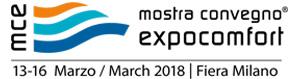 Mostra Convegno Expocomfort (MCE) 2018 à Milan